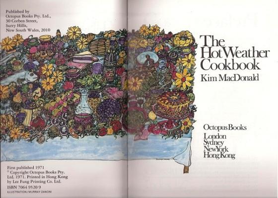 Hot Weather Cookbook 001