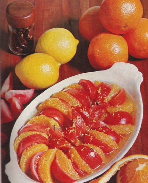 Tomato Salad with Orange Segments
