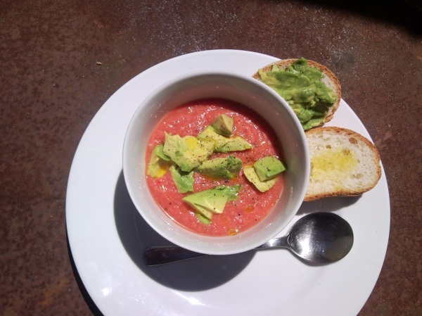Homemade Gazpacho...I can do cold Soup