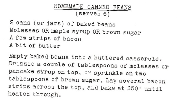 Homemade Canned Beans?