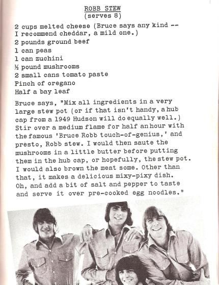 Retro Food For Modern Times: Singers and Swingers In The Kitchen   Roberta Ashley (1967)   Franks, Mince and A Saucer of Milk!