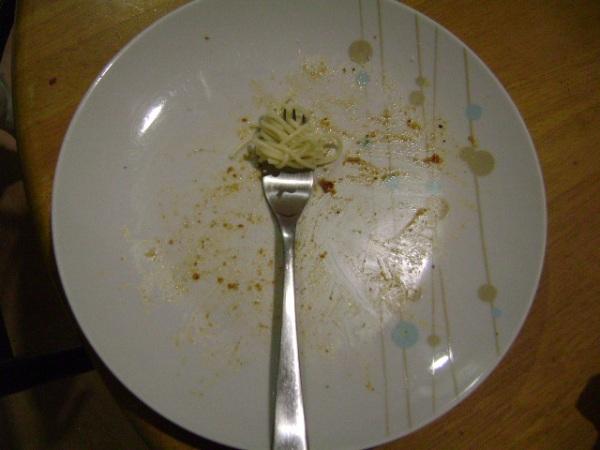 Mark's Plate...