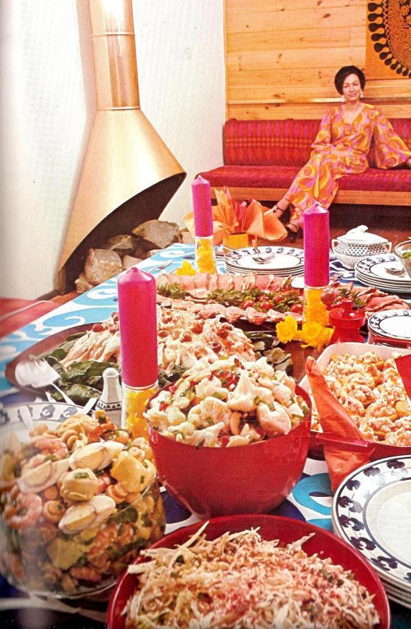 Summer Buffet Dinner Party