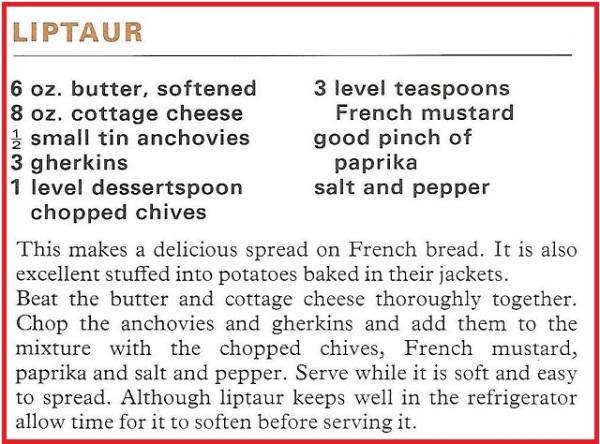Liptaur Recipe 001