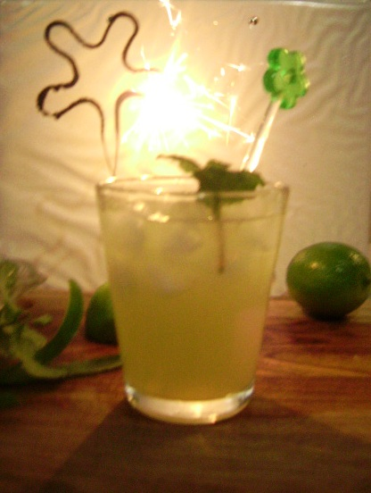Cucumber and Lime Gimlet