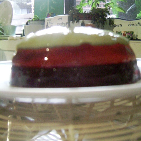 Pistachio, Rose and Pomegranate Jelly