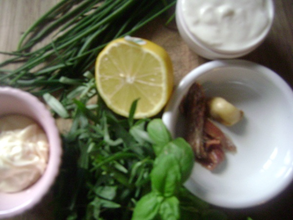 Green Goddess Dressing Ingredients