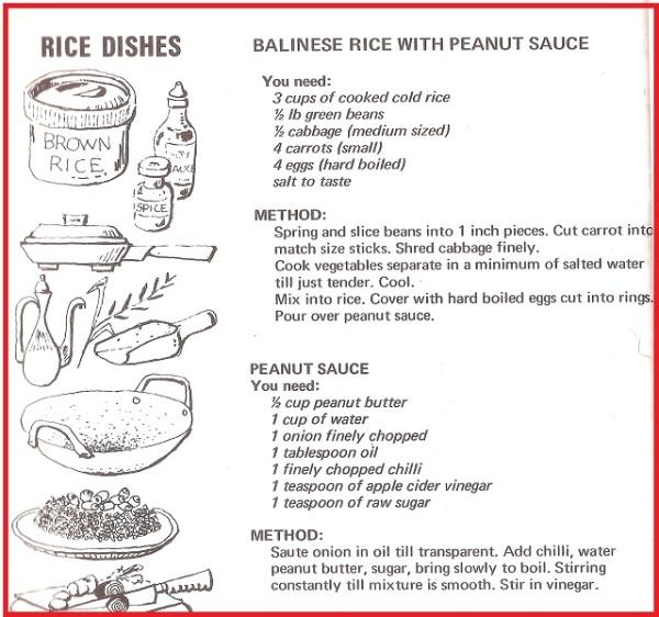Balinese Rice Recipe