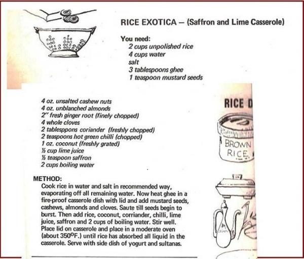 Rice Exotica