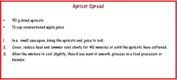 Apricot Spread Recipe
