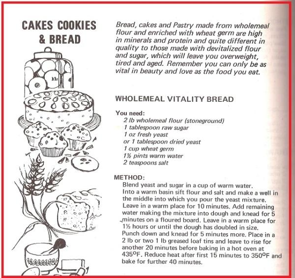 Vitality Bread Recipe
