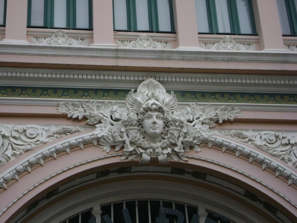 Detail - Saigon Post Office