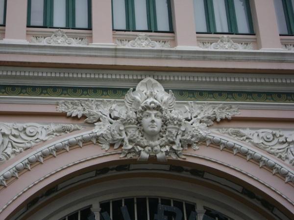 Detail - Saigon Post Office