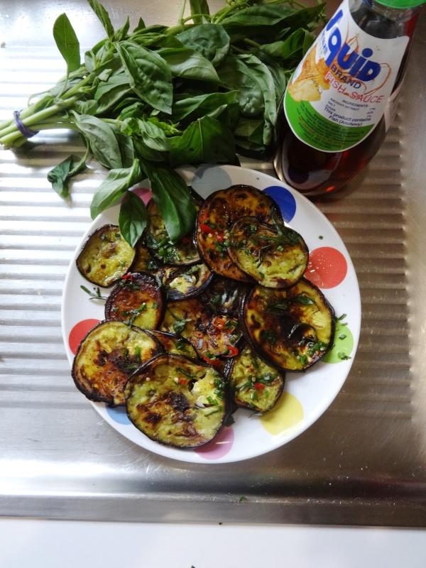 tnamese Inspired Eggplant
