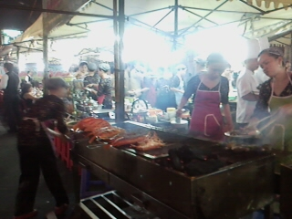 Ben Thanh Night Market