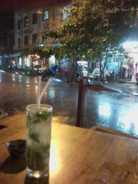 Mojito's in the rain