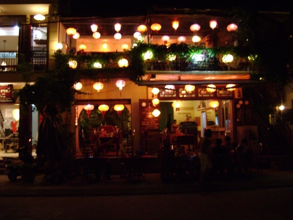Cafe at Night - Hoi An