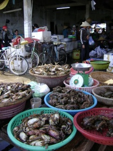 Crabs At Hoi An Market