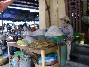 Noodles At Hoi An Market