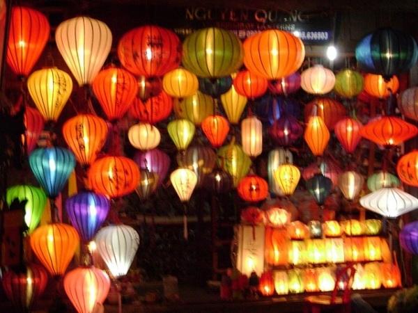 Silk Lanterns Hoi An